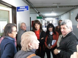 Ripoll y De Gennaro en Hospital Solano