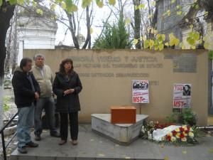 Vilma Ripoll en homenaje Alejandro Ford 1